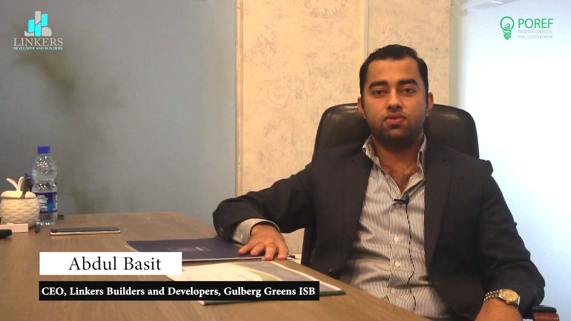 Abdul Basit, CEO - Linkers Builders and Developers, Gulberg Greens