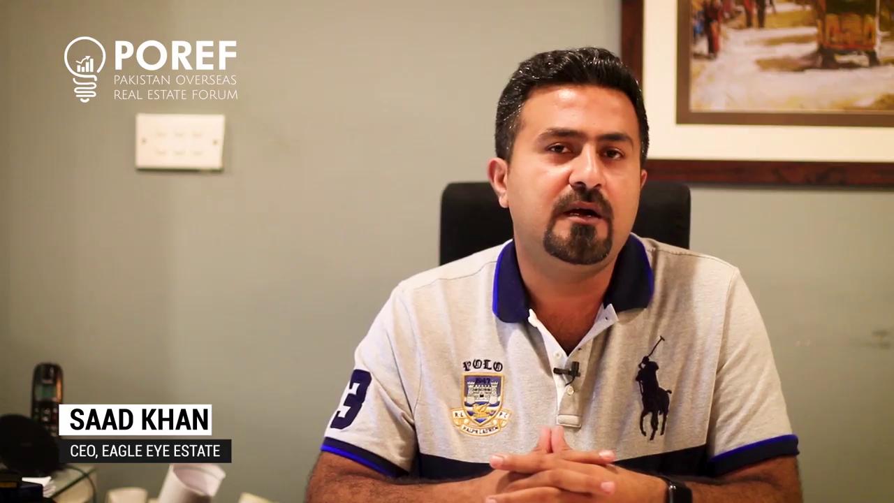 Saad Khan, CEO - Eagle Eye Estate
