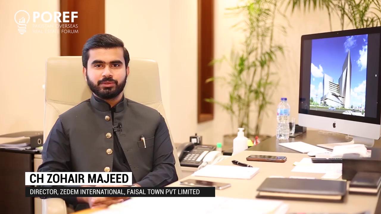Ch Zohair Majeed, Director - Zedem International, and Faisal Town PVT. LTD.