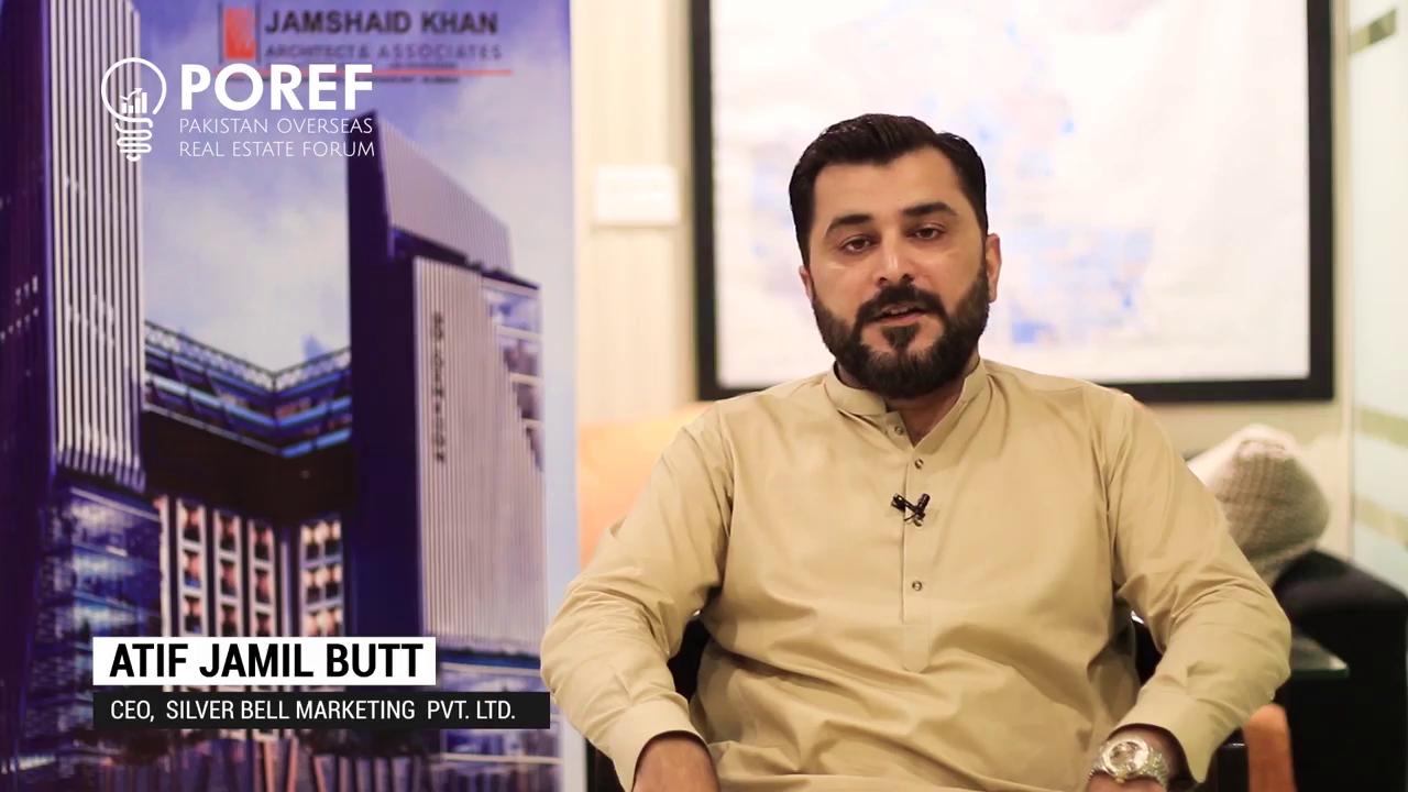 Atif Jamil Butt, CEO - Silver Bell Marketing Pvt. Ltd