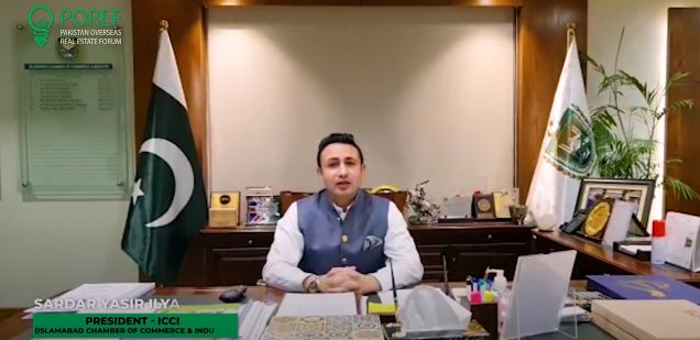 Sardar Yasir llyas Khan, President – Islamabad Chamber of Commerce & Industry (ICCI)