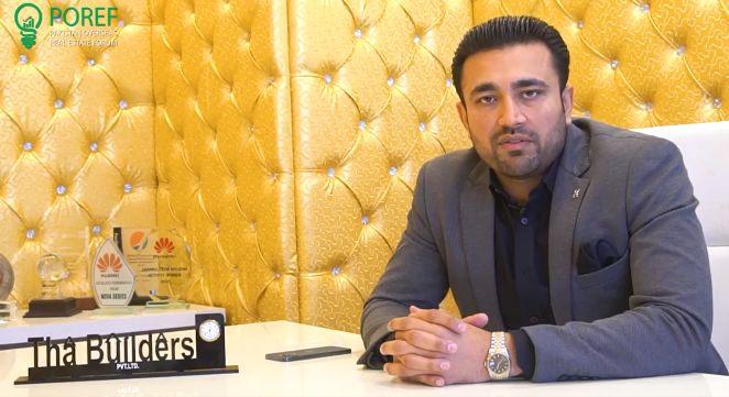 Hasan Minhas, CEO – THA Builders PVT.LTD